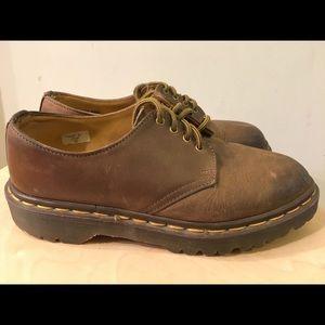DR MARTENS England Made Womens Sz 7 Oxford Shoes